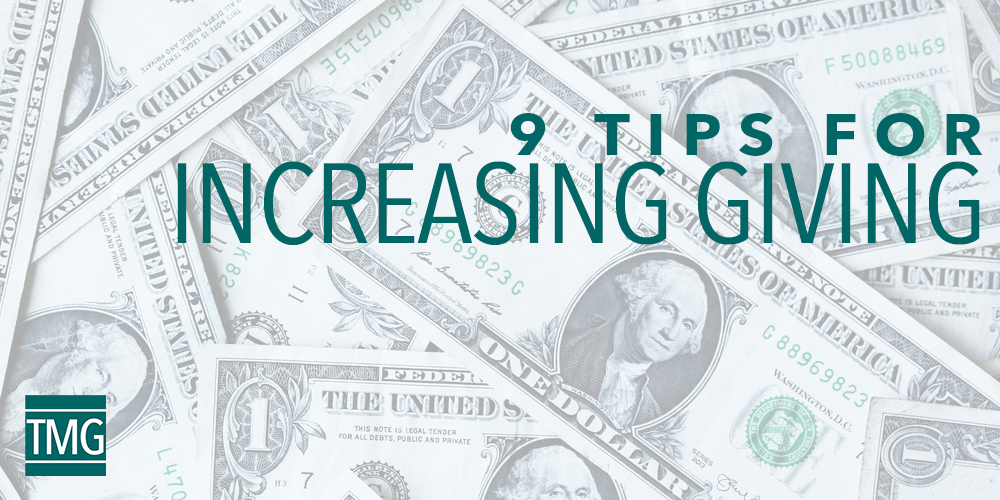 9 Tips to Increase Giving at Your Church