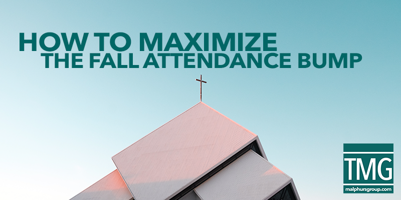 10 Ways to Maximize Fall Church Attendance