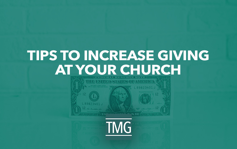 Tips to Increase Giving at Your Church