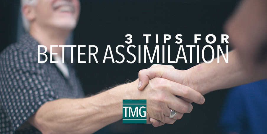Three Tips for Better Assimilation