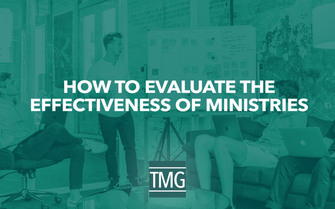 How to Assess the Effectiveness of Ministries