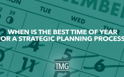 When Is the Best Time of Year for a Strategic Planning Process?