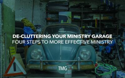 Decluttering Your Ministry Garage
