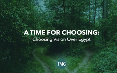 A Time For Choosing Vision Instead Of Egypt