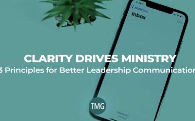 Clarity Drives Ministry